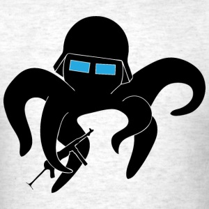 Octopus Soldier - Men's T-Shirt