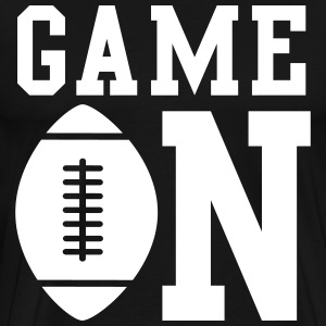 Football. Game On T-Shirts - Men's Premium T-Shirt