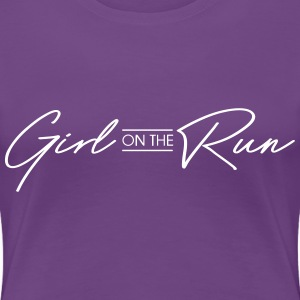 Girl on the run T-Shirts - Women's Premium T-Shirt