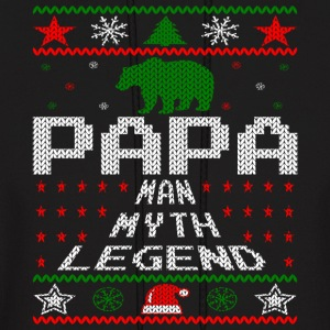 Papa Christmas Sweater Hoodies - Men's Hoodie