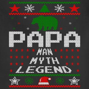 Papa Christmas Sweater Aprons - Adjustable Apron