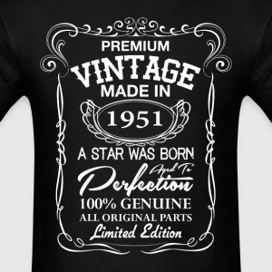 vintage made in 1951  T-Shirts - Men's T-Shirt