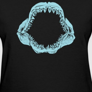Mouth Of The Megalodon - Women's T-Shirt