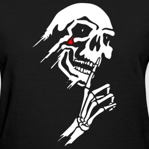 Skull Tear Drop - Women's T-Shirt