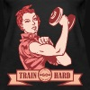 TRAIN HARD YOU CAN DO IT RETRO - Women's Premium Tank Top