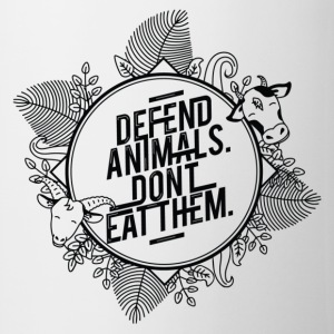 Defend Animals Mugs & Drinkware - Coffee/Tea Mug
