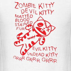 Zombie Soft Kitty - Men's T-Shirt