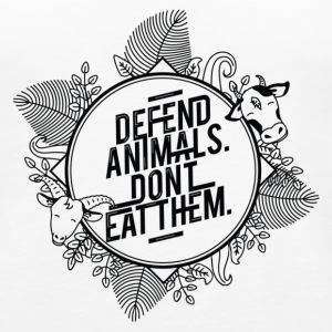 Defend Animals Tanks - Women's Premium Tank Top