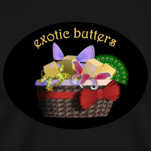 FNAF Exotic Butters Sister Location Meme T-Shirts - Men's Premium T-Shirt
