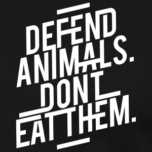 Defend Animals T-Shirts - Men's Premium T-Shirt