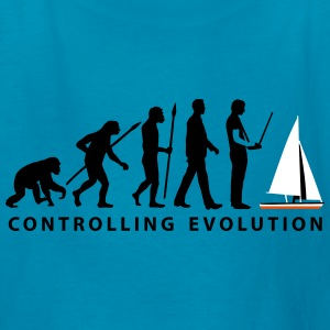 evolution_modelling_sailing_ship_10_2016 Kids' Shirts - Kids' T-Shirt