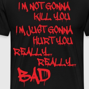 joker quotes - Men's Premium T-Shirt