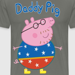 Daddy pig circus - Men's Premium T-Shirt