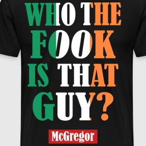 who the fook - Men's Premium T-Shirt