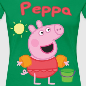 peppa pig beach - Women's Premium T-Shirt