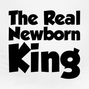 THE REAL NEWBORN KING MATERNITY BABY INFANT T-Shirts - Women's Maternity T-Shirt