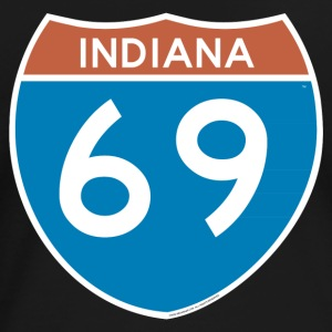 Indiana 69 - Interstate T-Shirts - Women's Premium T-Shirt