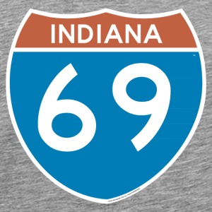Indiana 69 - Interstate T-Shirts - Men's Premium T-Shirt