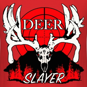 Deer slayer 2 red - Men's T-Shirt
