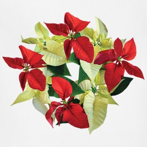 Circle of Poinsettias Aprons - Adjustable Apron