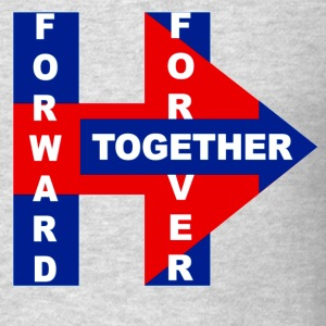 Hillary's 2017 Forward,Forever, Together - Men's T-Shirt