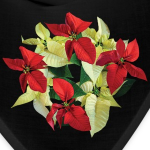 Circle of Poinsettias Caps - Bandana