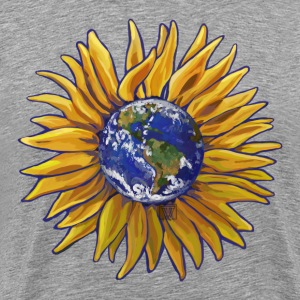 Sunflower Earth Shirt - Men's Premium T-Shirt