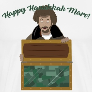 Happy Hanukkah Marv - Men's Premium T-Shirt