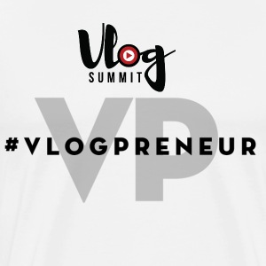 Vlog Summit - Men's Premium T-Shirt