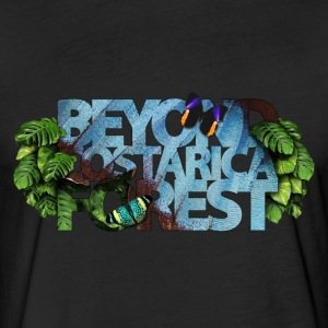 Beyond Costa Rica Forest - Fitted Cotton/Poly T-Shirt by Next Level