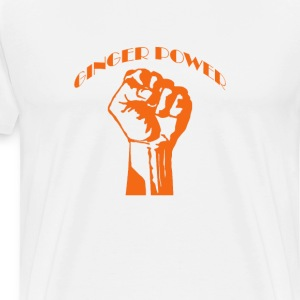 Ginger Power Red Hair T-Shirts - Men's Premium T-Shirt