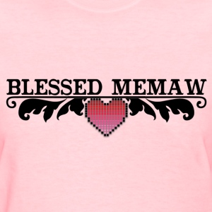 BLESSED MEMAW T-Shirts - Women's T-Shirt