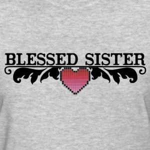 BLESSED SISTER T-Shirts - Women's T-Shirt