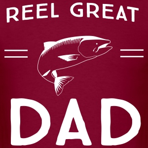 Reel Great Dad T-Shirts - Men's T-Shirt