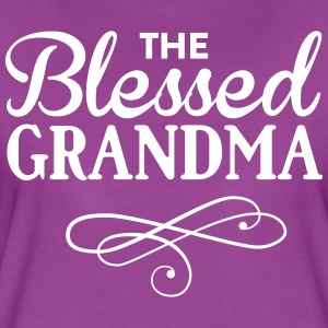 The blessed grandma T-Shirts - Women's Premium T-Shirt