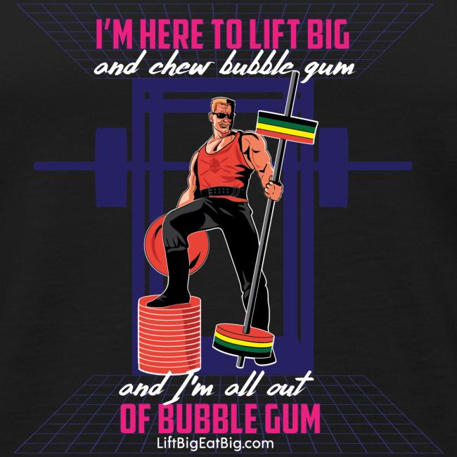 Lift Big & Chew Bubble Gum