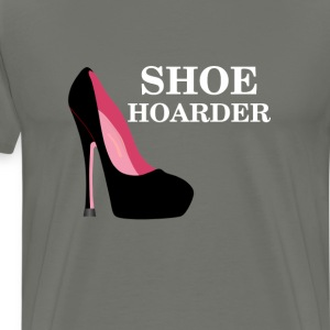 Women's Shoe Hoarder T-Shirts - Men's Premium T-Shirt