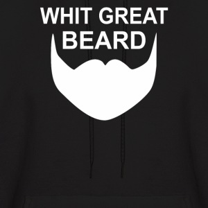 With Great Beard Comes Great Responsibility - Men's Hoodie
