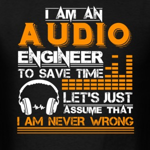 Audio Engineer Tee Shirt - Men's T-Shirt