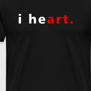I Heart Art I Love Art T-Shirts - Men's Premium T-Shirt
