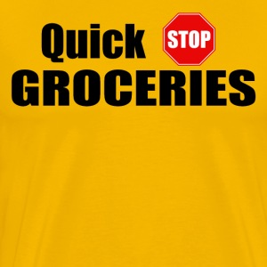Quick Stop Groceries - Clerks T-Shirts - Men's Premium T-Shirt