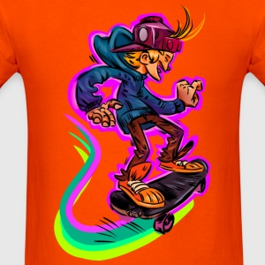 Skate and Street T-Shirt - Men's T-Shirt