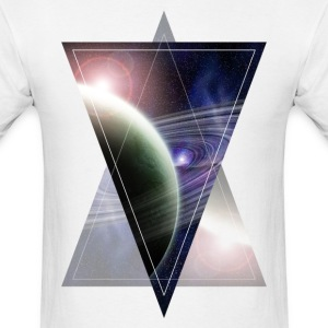 space triangle manji.png T-Shirts - Men's T-Shirt
