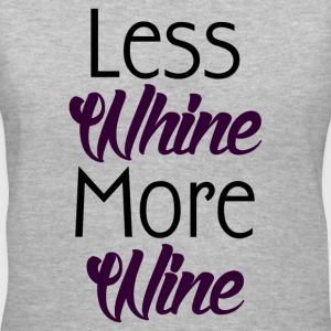 WINE NOT WHINE T-Shirts - Women's V-Neck T-Shirt