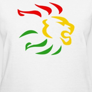 Rasta Lion reggae - Women's T-Shirt