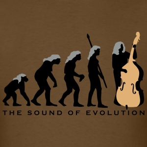 evolution_female_bass_player_11_2016_a_3 T-Shirts - Men's T-Shirt