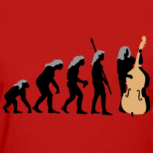 evolution_female_bass_player_11_2016_b_3 T-Shirts - Women's T-Shirt