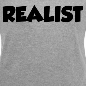 REALIST T-Shirts - Women´s Rolled Sleeve Boxy T-Shirt