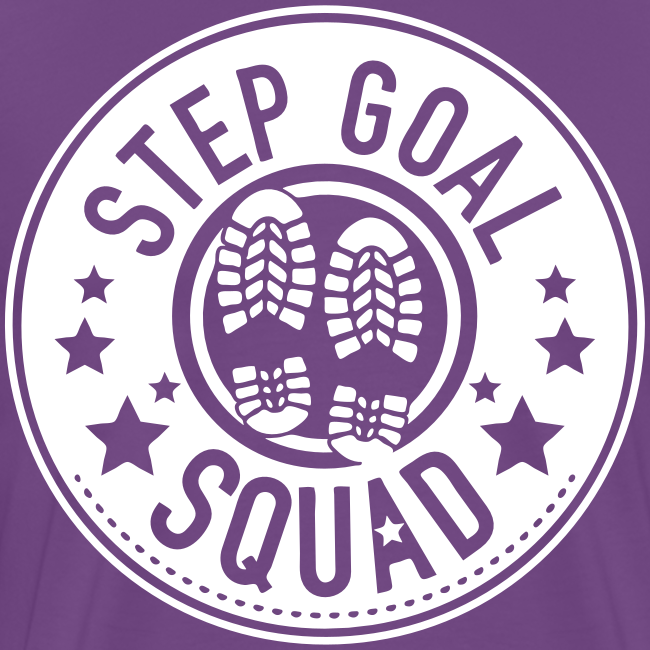 Step Goal Squad #1 Reverse Design - Mens Plus Sized, SM - 5XL