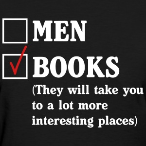 Men or Books?  T-Shirts - Women's T-Shirt
